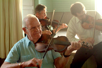 Brookfield Town Hall - Harold Luce & other Fiddlers