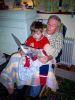 Grampy &Chase reading